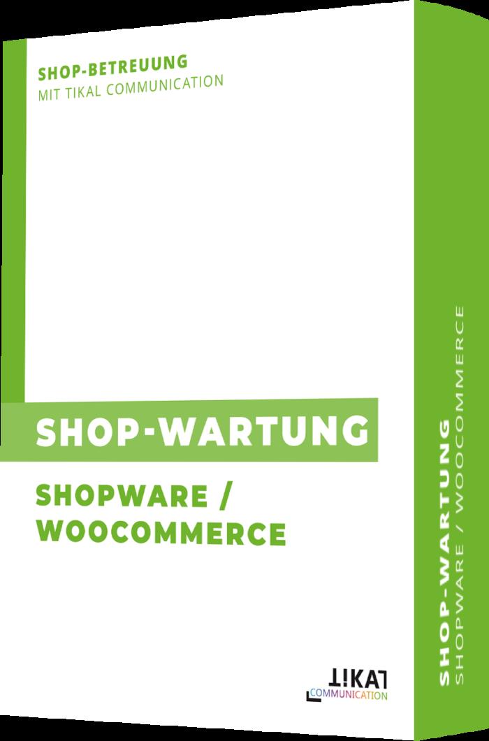 Shop-Wartung Shopware & WooCommerce