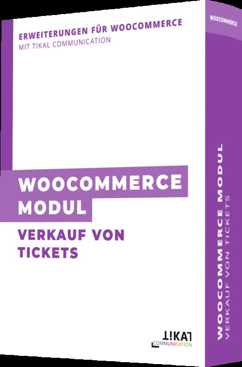 WooCommerce Modul: Verkauf von Tickets