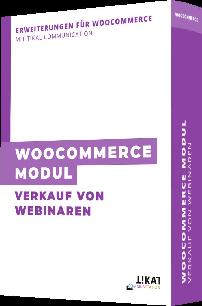 WooCommerce Modul: Verkauf von Webinaren