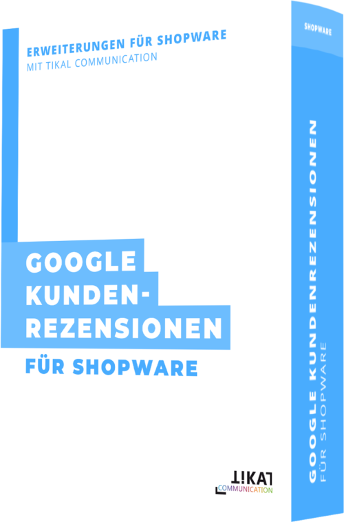 Google Kundenrezensionen für Shopware