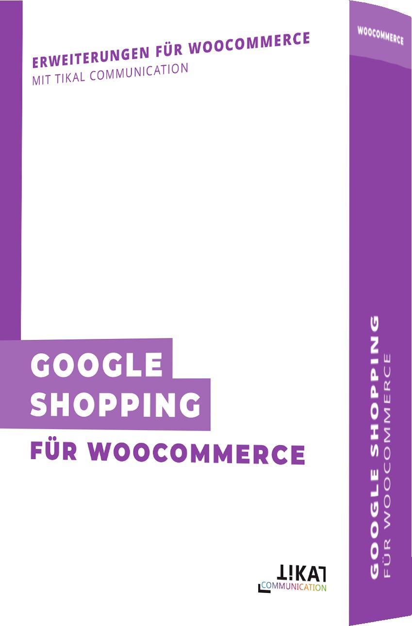 Google Shopping für WooCommerce