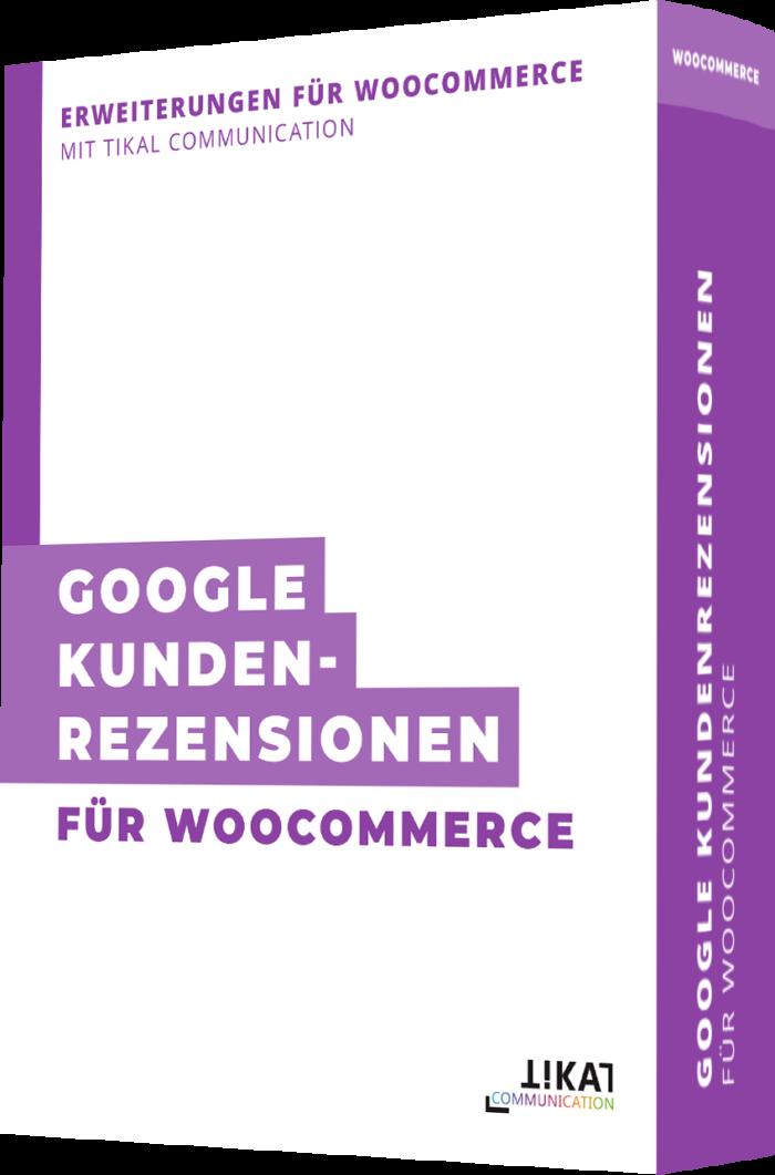 Google Kundenrezensionen für WooCommerce