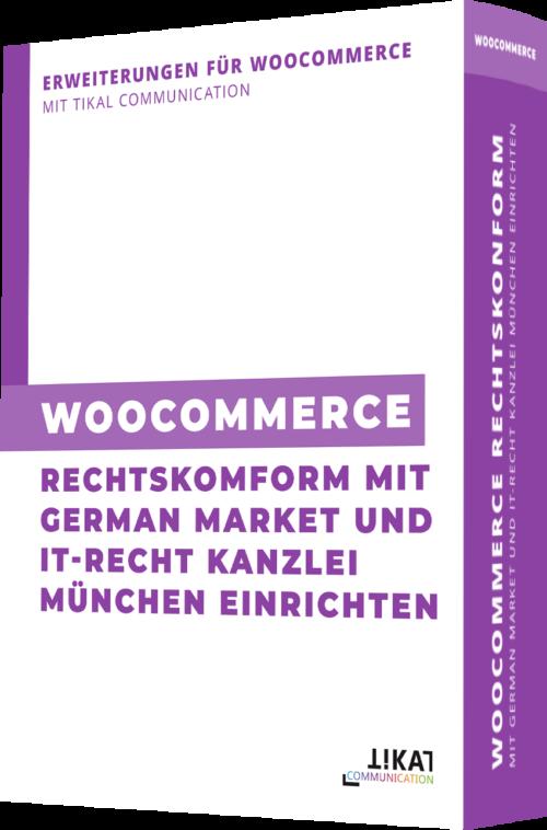 WooCommerce rechtskonform mit German Market und IT-Recht Kanzlei München einrichten